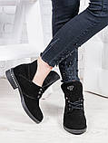 Женские замшевые ботинки деми Аврелия 6835-28, фото 3
