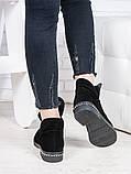 Женские замшевые ботинки деми Аврелия 6835-28, фото 4