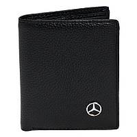 Бумажник двойного сложения с логотипом Mercedes (Мерседес)