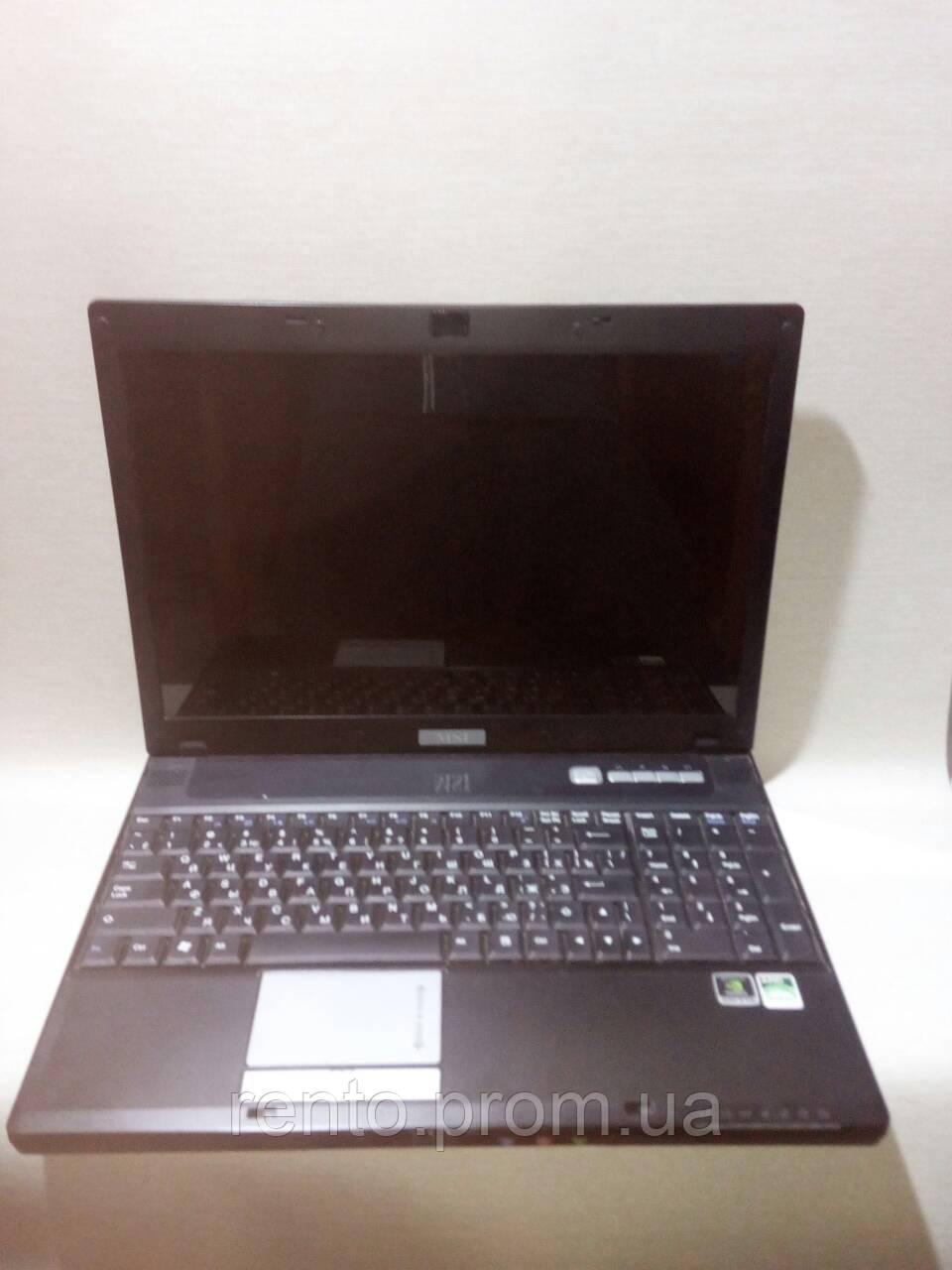 Аренда, прокат - Ноутбук MSI - MS-1632