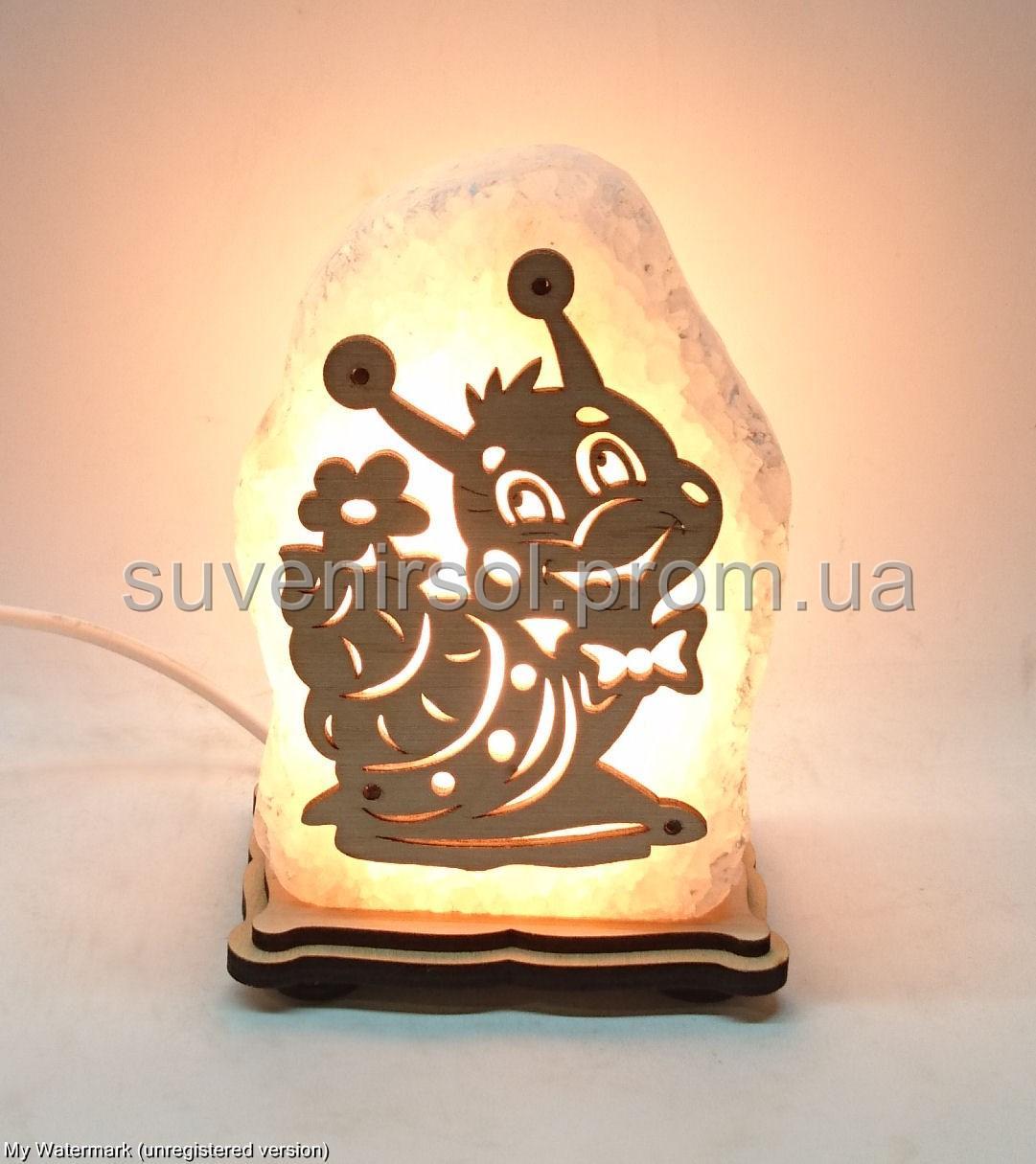 Соляная лампа Улитка маленькая