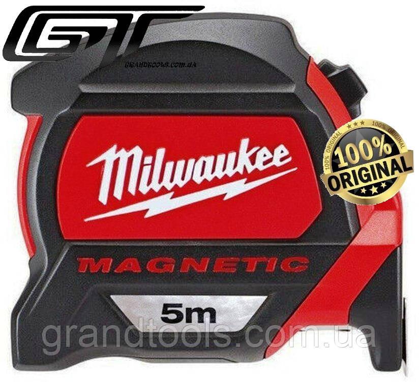 Рулетка Milwaukee 5м с магнитом 48227305