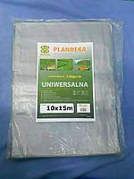 Тент для зерна 10х15 (120г/м2). С двойной ламинацией, для навесов и накрытия., фото 1