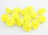 Цветы для декора из латекса Роза 2 см