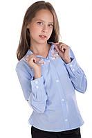 Блуза Брианна, голубой