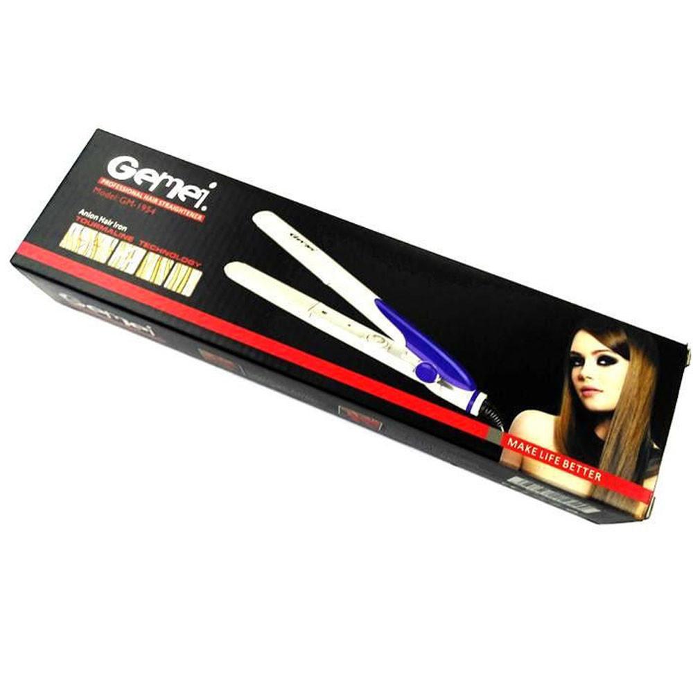 Плойка выпрямитель для волос Gemei GM-1954 утюжок для всех типов волос