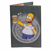 Обложка на паспорт(Гомер Симпсон)