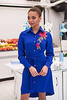 Платье женское с розой АНД285, фото 1