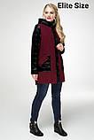 Демисезонное пальто весна-осень большого размера р. 48-54 , фото 2