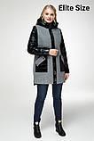 Демисезонное пальто весна-осень большого размера р. 48-54 , фото 5