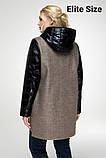 Демисезонное пальто весна-осень большого размера р. 48-54 , фото 7
