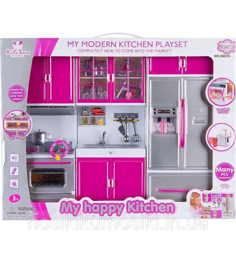 Игровой набор Детская кухня (звуковые и световые эффекты, посуда) 66035