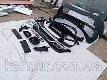 Рестайлинг Mercedes W222, бампер S63 AMG, обвес W222 AMG
