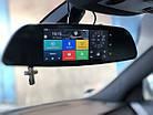 """Дзеркало відеореєстратор D35 ANDROID 6.1 3G екран LCD 7"""", GPS автореєстратор на андроїді, фото 3"""