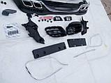 Рестайлинг Mercedes W222, бампер S63 AMG, обвес W222 AMG, фото 4