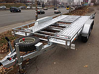 Прицеп автовоз для перевозки автомобилей Сантей 2500-51
