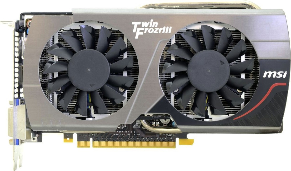 "Видеокарта MSI Twin Frozr GTX660 2GB 192bit (N660 TF 2GD5/OC) ""Over-Stock"" Б/У"