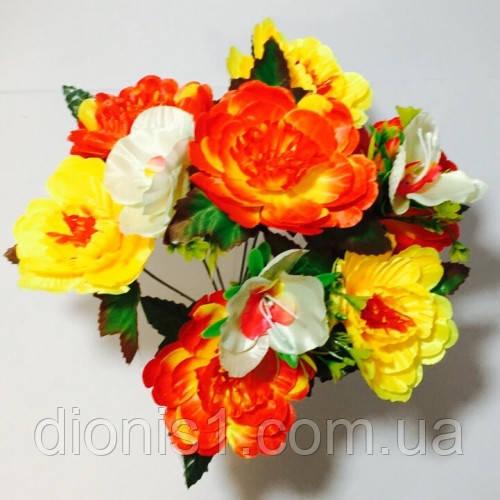 Букет троянда+ архідея на 10 голів Z-6529