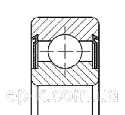 Подшипник 180100 (6000 2RS), фото 2