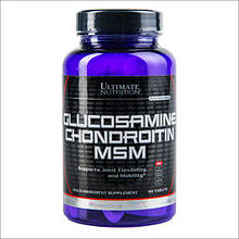 Хондропротектор GLUCOSAMINE CHONDROITIN & MSM 90 таблеток