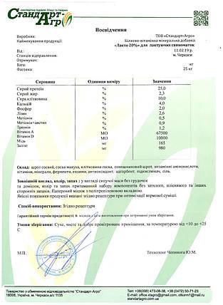 "БВМД для свиней ТМ ""Стандарт Агро"" лакто 20%, фото 2"