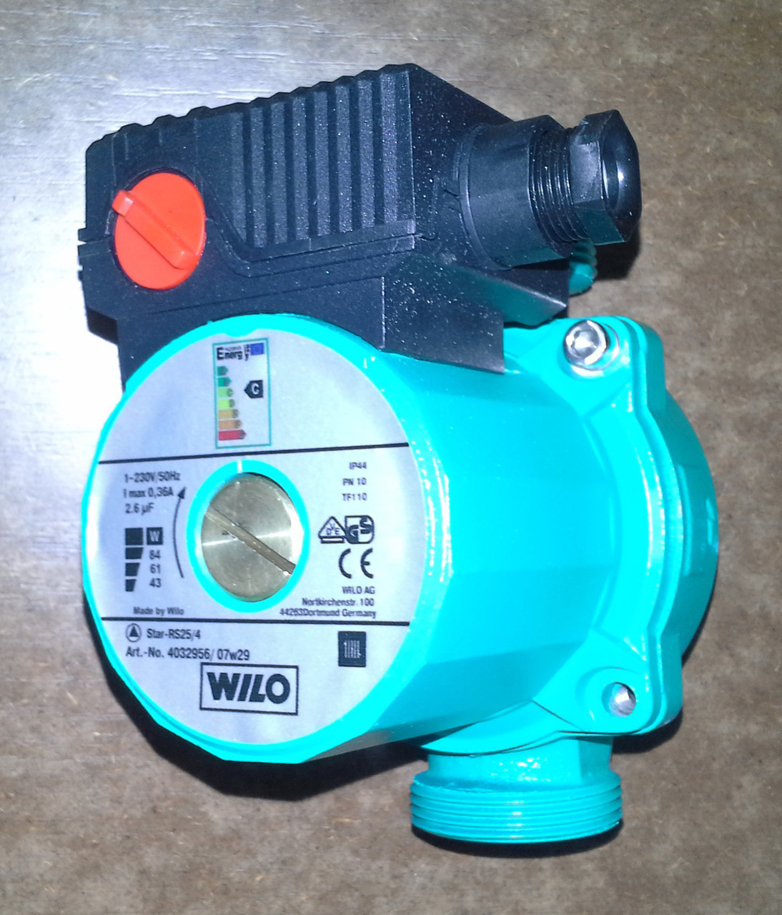 Циркуляционный насос Wilo STAR–RS 25/6–180 (Китай)