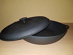 Сковорода жаровня с крышкой (d=400мм, h=90мм), фото 2