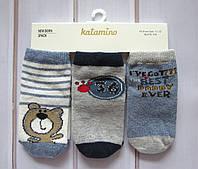Носки детские для мальчика (0-6,6-12,12-18 мес.) Katamino