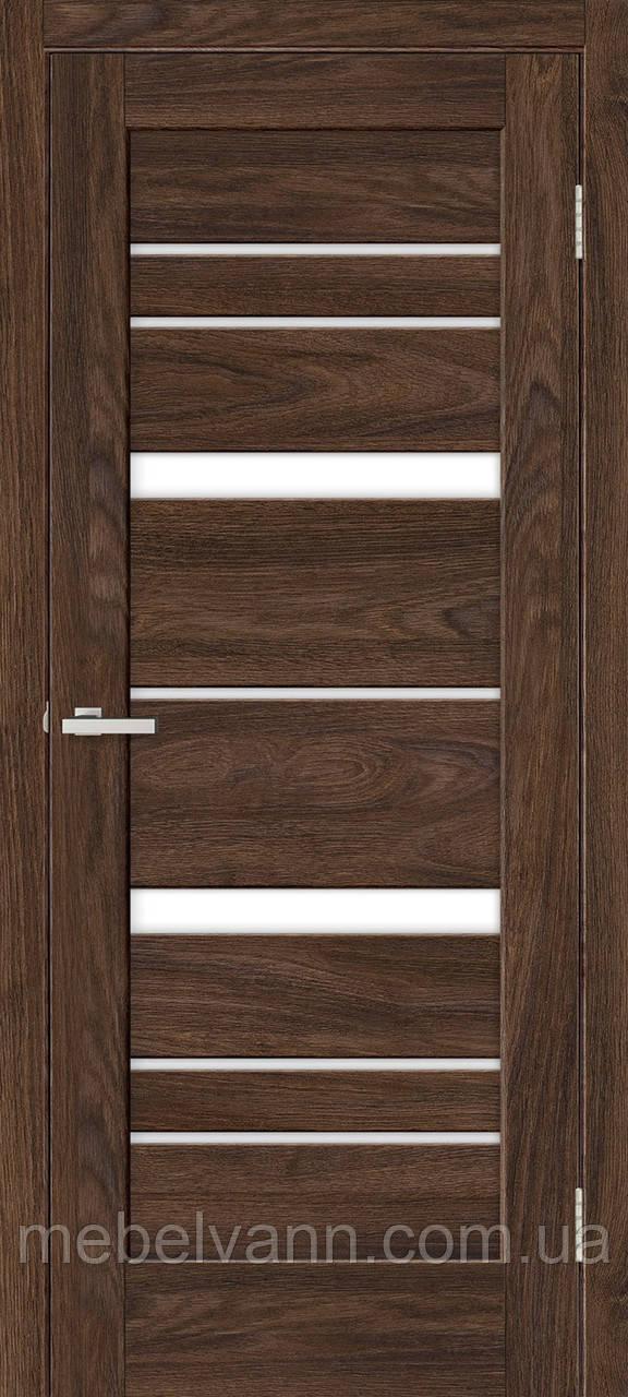 Межкомнатная дверь Рино 02 G NL дуб Такома