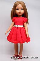 Платье с рукавом фонарик для кукол Паола Рейна