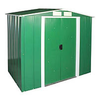 Металлический сарай Duramax Eco 202х122х181 зеленый