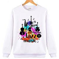 Джемпер JAZZ MUSIC детский белый