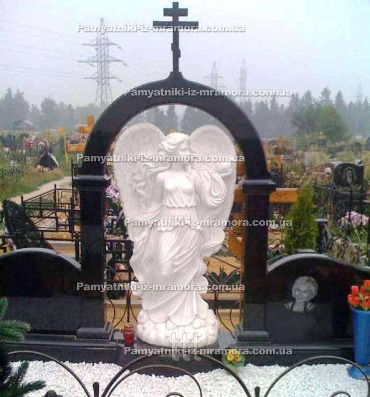 Мраморный ангел на могилу № 28