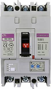 Авт. выключатель EB2 125/3L 100A 3p