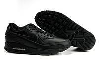 Женские Кроссовки Nike Air Max 90 черного цвета