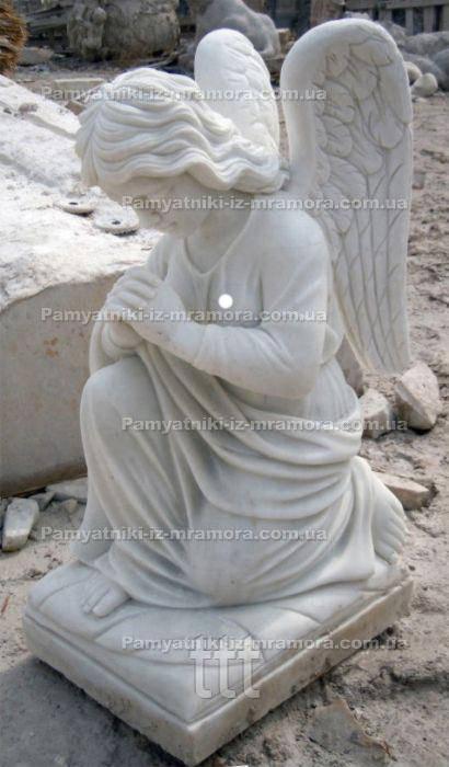 Молящийся Ангел из мрамора  № 31