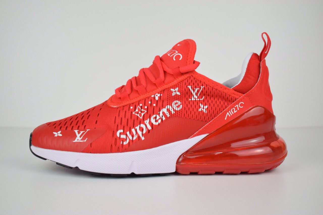 d3ce55e7 Кроссовки женские Nike Air Max 270 Supreme LX Red/White (найк аир мах 270