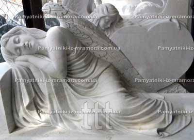 Спящий ангел на могилу № 32