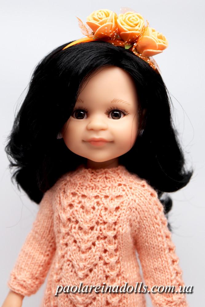 Платье-туника и обруч для кукол Паола Рейна