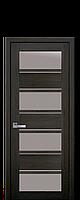Межкомнатные двери Новый стиль Элиза  со стеклом сатин дуб мускат