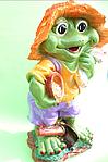 Жаба с полотенцем, фото 2