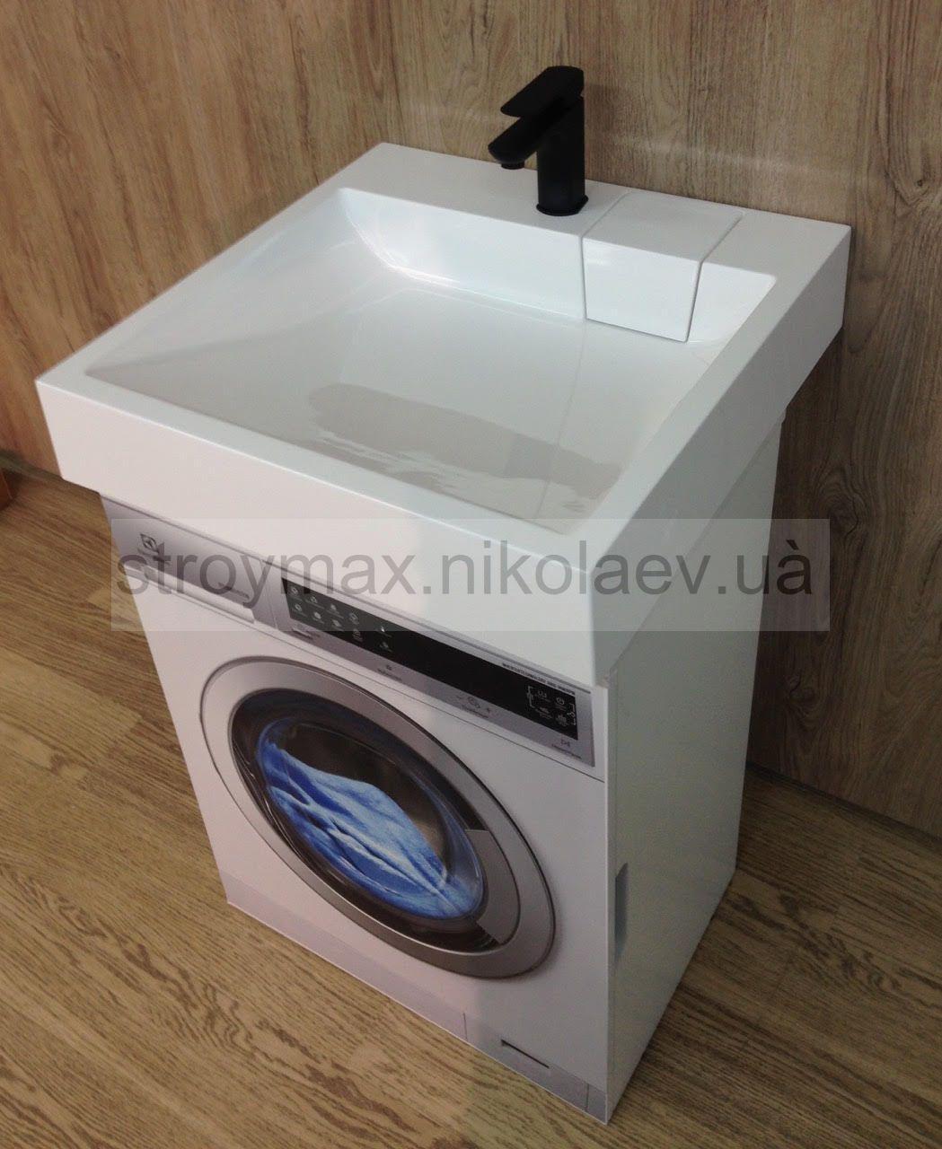 Умывальник над стиральной машиной TALLIN (600*600*120)  с комплектом крепежа к стене