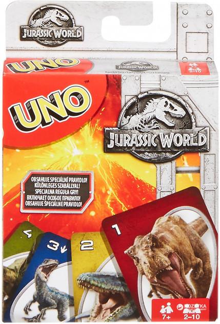 Настольная игра UNO Парк Юрского периода
