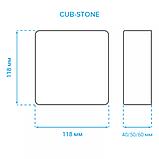 Светодиодная тротуарная LED плитка CUB-STONE, RGB, 40 мм, фото 3