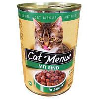 Консерва для кошек Сat Menue MIT RIND, 415 г