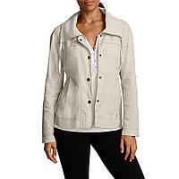 Женская ветровка Eddie Bauer Womens Blouse Jacket Linen PUTTY