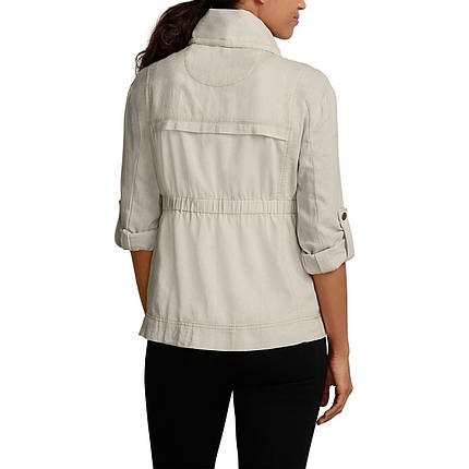 Женская ветровка Eddie Bauer Womens Blouse Jacket Linen PUTTY, фото 2