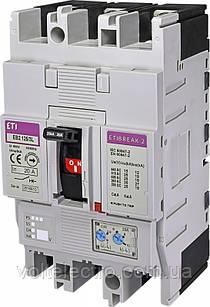 Авт. выключатель EB2 EB2 125/3S 125A 3p (S-серия стандарт)