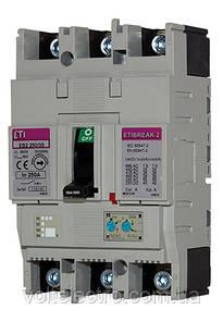 Авт. выключатель EB2 EB2 125/4S 20A 4p (S-серия стандарт)