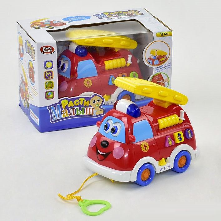 """Развивающая музыкальная игрушка """"Пожарная машина""""  9163"""